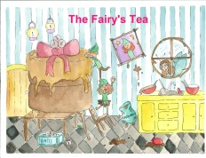 Book cover III fairy's tea